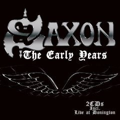 saxon the early years CD 2-discs 2008 ABC ZYX golden core made in germany used mint
