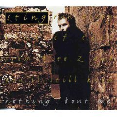 sting - nothing 'bout me CD single 1994 A&M 4 tracks used mint