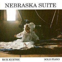 nebraska suite - rick kuethe solo piano CD 1989 fire husker 11 tracks used mint