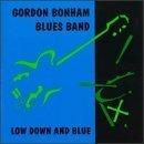 gordon bonham blues band - low down abd blue CD 1998 slippery noodle sound egg used mint