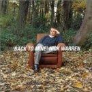 nick warren - back to mine CD 1998 DMC 13 tracks used mint