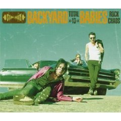 backyard babies - total 13 CD 1998 MVG scooch pooch 15 tracks used mint