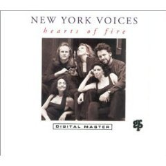 new york voices - hearts of fire CD 1991 GRP used mint