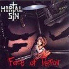 mortal sin - face of despair CD 1989 phonogram london polygram 10 tracks used mint