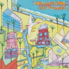 jon anderson - in the city of angels CD 1988 CBS sony used mint