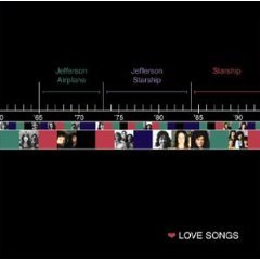 jefferson airplane jefferson starship starship - love songs CD 2000 RCA used mint