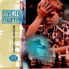 five for fighting - message for albert CD 1997 EMI nettwerk used mint