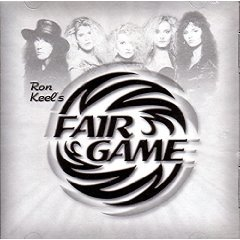 ron keel - fair game - beauty and the beast CD 2000 metal mayhem 9 tracks used good