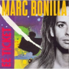 marc bonilla - ee ticket CD 1991 reprise warner used mint