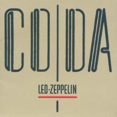 led zeppelin - coda CD 1982 swan song atlantic BMG Direct used mint