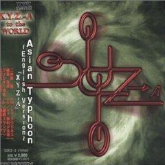 XYZ - asian typhoon CD 2000 xyz records japan 12 tracks used mint WITHOUT OBI STRIP