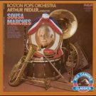 sousa marches - boston pops orchestra with arthur fiedler conductor CD 1987 RCA camden used mint