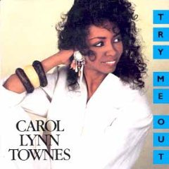 carol lynn townes - try me out CD 1988 polygram used mint