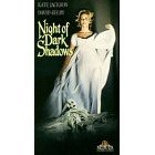 night of dark shadows VHS 1990 MGM color 95 minutes used very good
