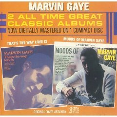 marvin gaye - that's the way love is / moods of marvin gaye CD 1987 motown used mint