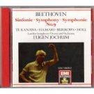 beethoven symphony no. 9 - jochum and london symphony chous and orchestra CD 1987 EMI mint