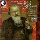 piano music of johannes brahms volume 1 - antonin kubalek, piano CD 1991 dorian mint