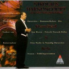 johann strauss in berlin - berliner philharmoniker and harnoncourt CD 1999 teldec mint