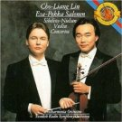 cho-liang lin & esa-pekka salonen - sibelius nielsen violin concertos CD 1988 CBS BMG Dir. mint