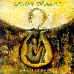 graham bonnet - underground CD 1996 recorded at new century media 10 tracks mint
