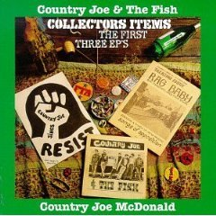 country joe & the fish - collectors items the first three EP's CD 1994 one way rag baby mint