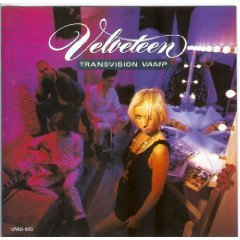 transvision vamp - velveteen CD 1989 uni records 12 tracks used mint