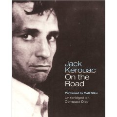 jack kerouac - on the road unabridged audio book on 10 CDs 2000 harper audio used mint
