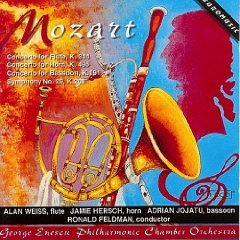 Mozart Concerti for Flute Horn Bassoon and Symphony No.29 HDCD 1998 used mint