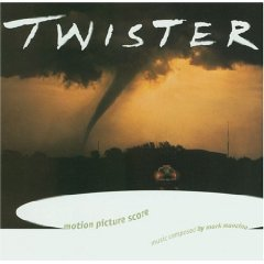 twister - motion picture score by mark mancina CD 1996 atlantic used mint