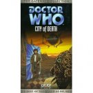 doctor who - city of death VHS 1998 BBC CBS FOX used mint