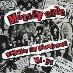 motley crue - decade of decadence '81 - '91 CD 1991 elektra used mint