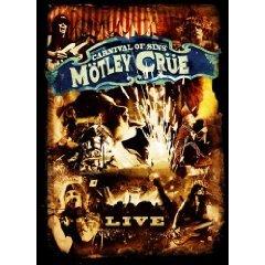 motley crue - carnival of sins DVD 2-discs 2005 clear channel used mint