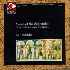 songs of the sephardim - la rondinella CD 1993 dorian BMG Direct used mint