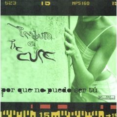 tributo a the cure por que no puedo ser tu CD 1999 warner music used mint
