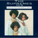 the supremes 70's - greatest hits and rare classics CD 1991 motown 22 tracks used mint