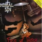 mortal sin - face of despair CD 1989 polygram used mint