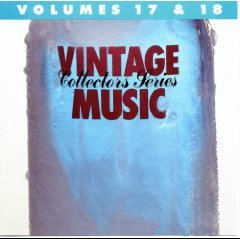 vintage music collectors series volumes 17 & 18 CD 1987 MCA 20 tracks used mint