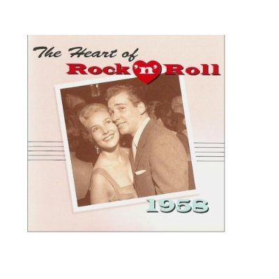 the heart of rock n roll 1958 - various artists CD 1995 polygram time life used mint