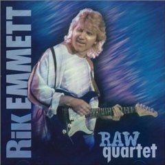 rik emmett - raw quartet CD 1999 rockit sounds 12 tracks used mint