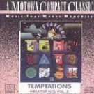 the temptations - greatest hits vol.2 CD 1988 motown used mint