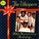 the whispers - 30th anniversary anthology CD 2-discs 1994 sequel castle used mint