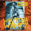 nine - whutcha want? CD EP 1995 profile 6 tracks used mint