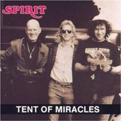 spirit - tent of miracles CD 1990 dolphin records used