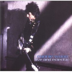 ronnie wood - live and eclectic CD 2000 burning airlines brand new