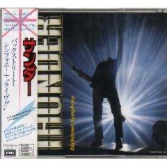 thunder - backstreet symphony CD 2-discs 1991 toshiba EMI made in japan used mint no obie strip