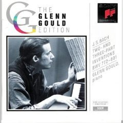 the glenn gould edition - bach two and three part inventions BWV 772 - 801 CD 1992 sony mint