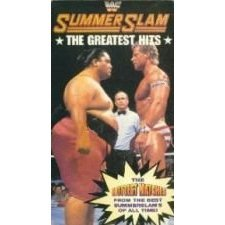 WWF summer slam the greatest hits VHS 1994 goodtimes used mint