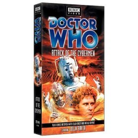 doctor who - attack of the cybermen VHS 1985 2002 BBC warner brand new