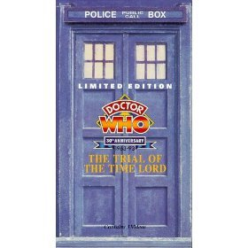 doctor who - the trial of the time lord VHS 3-tapes 1986 BBC 1993 CBS fox used mint