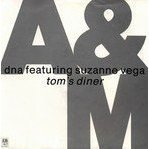 dna featuring suzanne vega - tom's diner CD single 4 tracks 1990 A&M used near mint